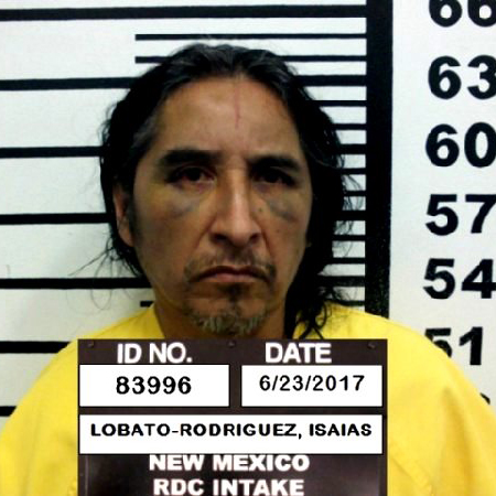 Mug shot of Isaias Lobato-Rodriguez, convicted of second-degree murder for the death of Connie Lopez, 57, of Lake Placid, Fla.