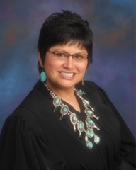 Portrait of District Judge Abigail Aragon