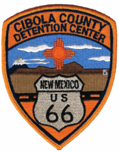 Cibola County Detention Center badge