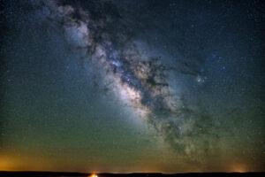 Milky way in San Juan County